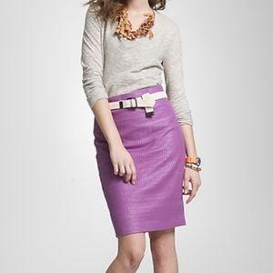 J. Crew Unagi Tweed pencil skirt